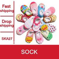 12Pairs New 2015 Arrival Lovely Baby Socks 100% Cotton Kids Socks Soft Children's Socks Girls Sock - SKA27 PT09