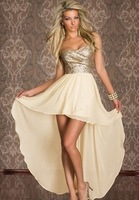 Sexy Dress Women 2014 New Fashion Tail Strapless Black Light Yellow Club Wear 2 colors M L Dresses Very Fast Shipping DS533