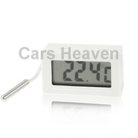 Mini LCD Indoor Digital Thermometer (Centigrade Display), White