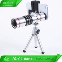 Red 18X Telescope For Samsung Note 2 3 Manual Focus Telescope Phone Camera Lens + Tripod For Galaxy S4 S3