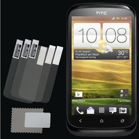 Retail Packing New 3x CLEAR LCD Screen Protector Guard Protective Film Cover Film For HTC Desire X Free Shipping