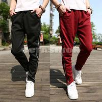 New Men's Casual Sports Dance Hip Hop Harem Trousers Long Pants Slacks 5 Colors