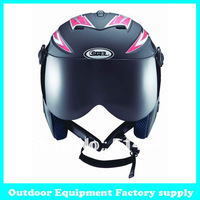 Dropshippinh 2014 hot sale ABS factory supply CE certificate skate helmet skateboard snow helmet adult ski helmet with mirror