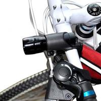 Mountain bike tactical flashlight ride car headlight bicycle metal retractable zoom flashlight bright flashlight