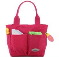 L0006 Multifunctional Small Totes Eco-Friendly Nappy Mummy Mama Baby Diaper Bags Maternity Women Handbag Brand Designer
