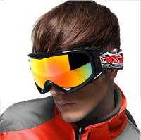 2014 new goggles men &women adult ski  goggles glasses mask brand snow ski glasses mask snowboarding ggoggles ski