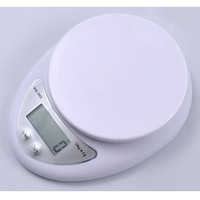 5kg Household Portable Electronic Digital LCD Kitchen Food Diet Postal Weight Weighing Scale Balance 5000g x 1g