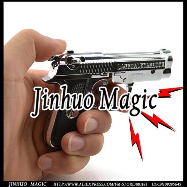 Free shipping Shock gun joke trick toys 1pcs for joke toys wholesale(China (Mainland))
