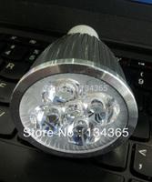 5 W LED 85-265V LED bulb light cool/warm white aluminum housing led spotlight 5pcs high power LED light 10pcs/lot