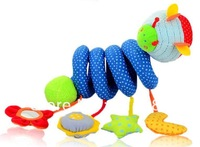 Bees Multifunctional Animals Around/Lathe Bed Hang.Safety Mirrors/BB Device/Ring Paper/Teeth GlueTake Pull Shock.ELC Baby Toys