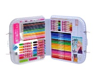 Barbie Stationery Set Orginal Children Drawing Gift Free Shipping Kids Art Sets Color Pens&Pencils Supplies