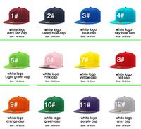 men's and women's baseball cap hat color hip-hop flat cap free shopping