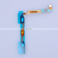 100pcs/Lot Brand New Original Keyboard Home Button Sensor Flex Cable for Samsung Galaxy Note 2 N7100 with Adhesive by DHL