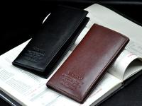 10pcs/lot Promotion! Most value Quality assurance Cowhide wallet,Men's soft dough leather wallet,   purse/wallet for men