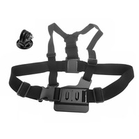Body Chest Strap With Mount Adapter For GoPro Camera HD Hero 1 2 3 ST-58