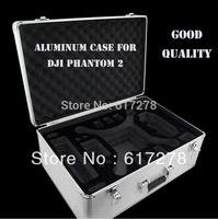 DJI Phantom 2 Vision Professional Aluminum EVA Hard Case With Key Lock EVA For AR RC Drone Quadcopter FPV Box Free Shipping toys