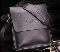 Free Shipping 2014 New Leather Men's Messenger Bags Fashion Casual Business Shoulder Handbags for man