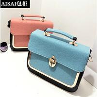 women handbag women leather handbags pu women messenger bags Designer crocodile glossy handbag High Quality crossbody bag X88