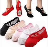 Womens Comfortable Breathable Canvas Soft Ballet Dance Shoes Suitable For Adult cx654214