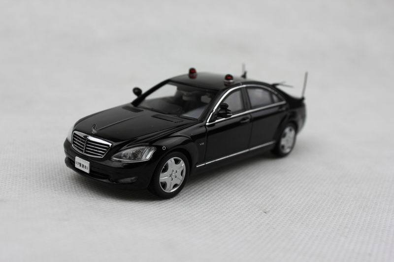 kyosho - RAI'S 1/43 Mercedes-Benz S600 Long (V221) 2008 Japan Police car diecast car model(China (Mainland))