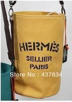 free shipping new fashion Bucket bag Preppy look messenger women or men shoulder bags Vintage canvas bag men