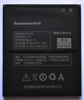 100% Original battery for Lenovo A766 S820 A656 A770E A750E A658T Battery BL210 (2000mAh) for Lenovo mobile phones