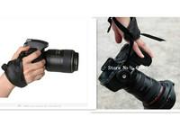 Camera Black Leather Soft Wrist Strap/Hand Grip for C/450D 500D 550D 1000D Nikon D5100 D7000 D3100 D90 D40 SLR/DSLR