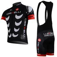Hot sale!/New Arrival/2013 CAS1 Short Sleeve Cycling Jerseys+bib shorts (or shorts)/Cycling Suit /Cycling Wear/-S13CI01