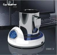 Magic multifunctional usbhub splitter vacuum cup pad heated coasters luminous clock