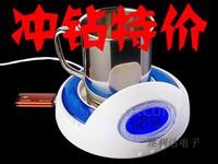 Coffee vacuum cup pad milk vacuum cup pad electric heating heated coasters usb luminous clock cup tape hub
