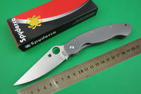 Spyderco C36 OEM Folding Knife CPM- S30V Blade Titanium Alloy Handle Camping Survival Knives Tactical Clip Gift Box Freeshipping