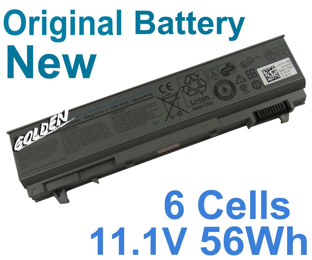 Genuine For Dell Latitude E6410 ATG E6500 E6510 312-0917 312-7414 451-10583 H1391 KY266 6Cells 56WH Original battery(China (Mainland))