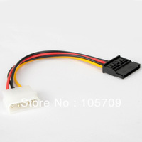 Wholesale 10pcs 4 Pin IDE to SATA Power Supply connector Adapter F0386