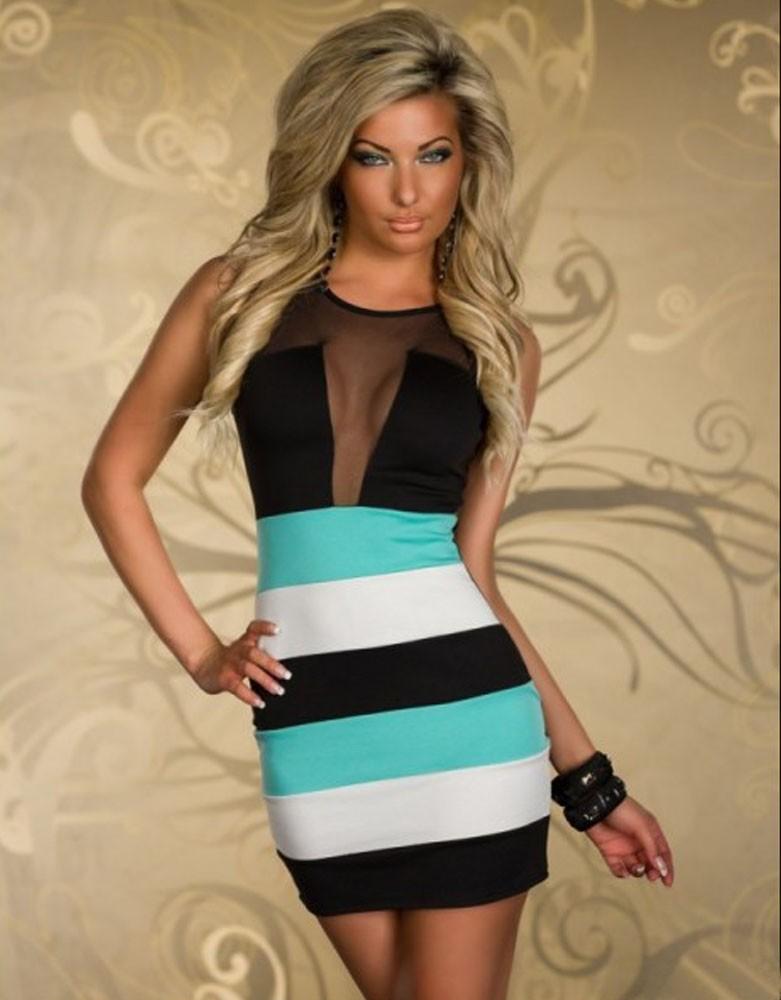 Sexy mesh dress women strip clothes with T string 2pcs/set HD339(China (Mainland))