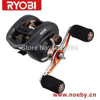 Free Shipping RYOBI PLUMA Top quality bait casting reels , fishing reels ,gear ratio:7.1:1,ball bearing:10+1