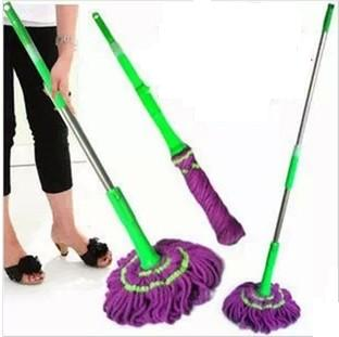free shipping Special rotating car wash mop, mop will latch stretching from quick-drying mop twist,Magic Mop(China (Mainland))