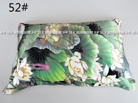2014 Pillow cover double faced silk pillow case silky silks and satins mulberry silk beauty skin care 49 - 54