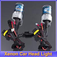 Free shipping +2 X 35W HID Xenon Car Head Light Lamp Bulbs H7 6000K 12V bulb