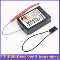FlySky RC 8ch 2.4g FS-R8B receiver for TH9X transmiter+free shipping