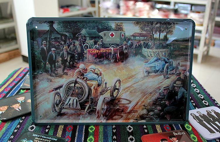 Online kopen wholesale retro auto kunst uit china retro auto kunst groothandel - Versieren kantoor ...