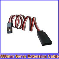 50x 500mm Servo Extension Lead Wire Cable Futaba JR