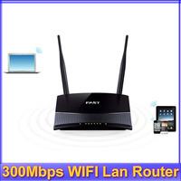 Register shipping!! 300Mbps 11N 802.11b/g/n Wireless 4-Port WIFI Lan Broadband Router Fast FW300R Black/White