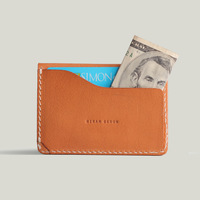 Hot sale! Free shipping New brand 100% genuine leather card holder, fashion card case wallet wholesale/dropshipping
