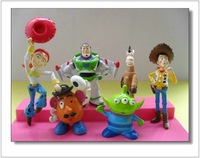Only ON SALES to Argentina 6 Sets 36 Pieces  Toy Story Action Toys Figures Woody PVC  Anime Figures WA0035-3