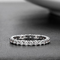 Opk accessories packtong platier personalized diamond ring women's ring wj935
