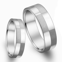 Opk fashion accessories 2013 jewelry plaid titanium lovers ring qj036