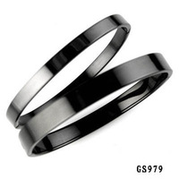 Opk accessories 2013 fashion jewelry black titanium lovers bracelet qh979