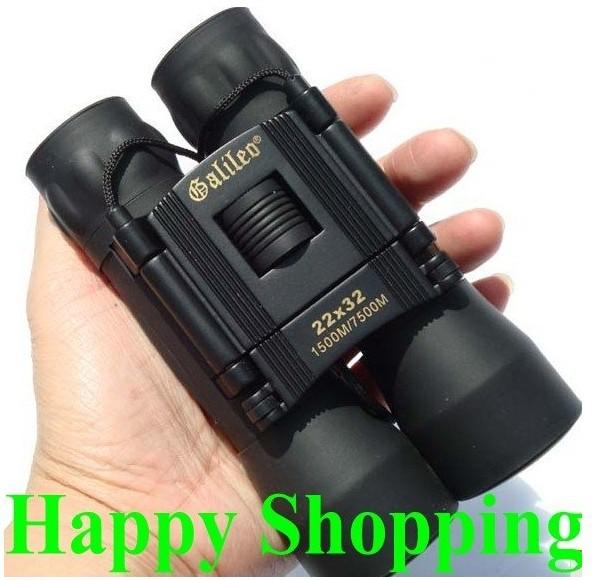 Galilen 22x32 binoculars sporting hunting telescope black(China (Mainland))