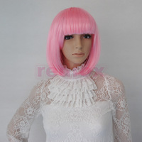 Cosplay Wig Bobo Head Neat Bang Short Straight for Festival Party Ball Performance Show Free Shipping From Imgirl