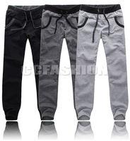 2014 NEW New Stylish Mens Casual Jogging Sports Long Pants Slacks Trousers 4Sizes 3Colors